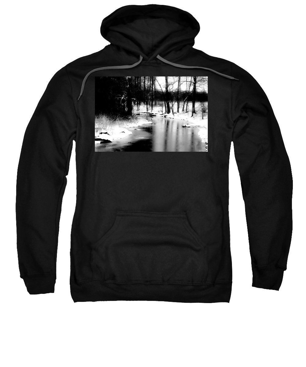Winter Sweatshirt featuring the photograph On A Winter's Day by Joseph Noonan
