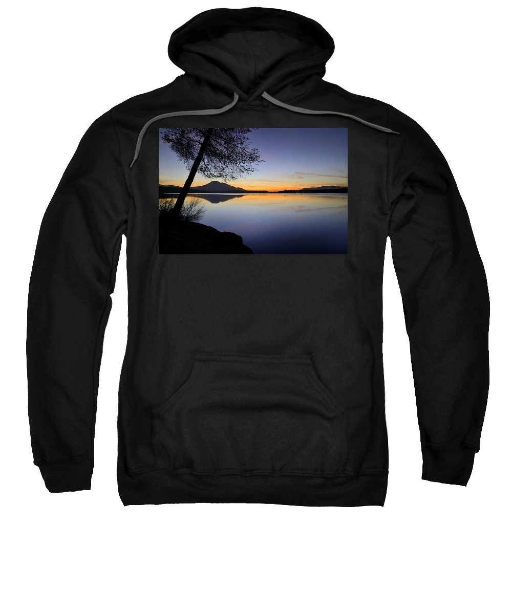 Landscape Sweatshirt featuring the photograph Peace by Guido Montanes Castillo