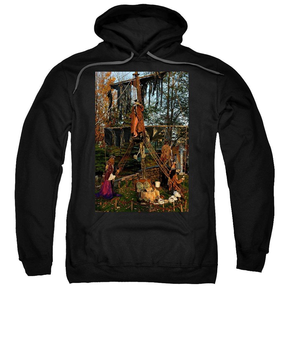 Usa Sweatshirt featuring the photograph Pirate Ride by LeeAnn McLaneGoetz McLaneGoetzStudioLLCcom