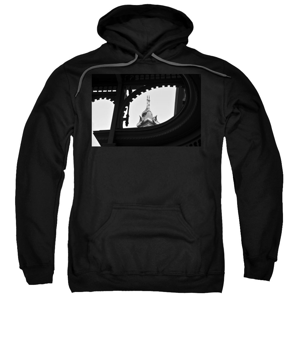 Fine Art Photography Sweatshirt featuring the photograph Plant Hall 1891 by David Lee Thompson