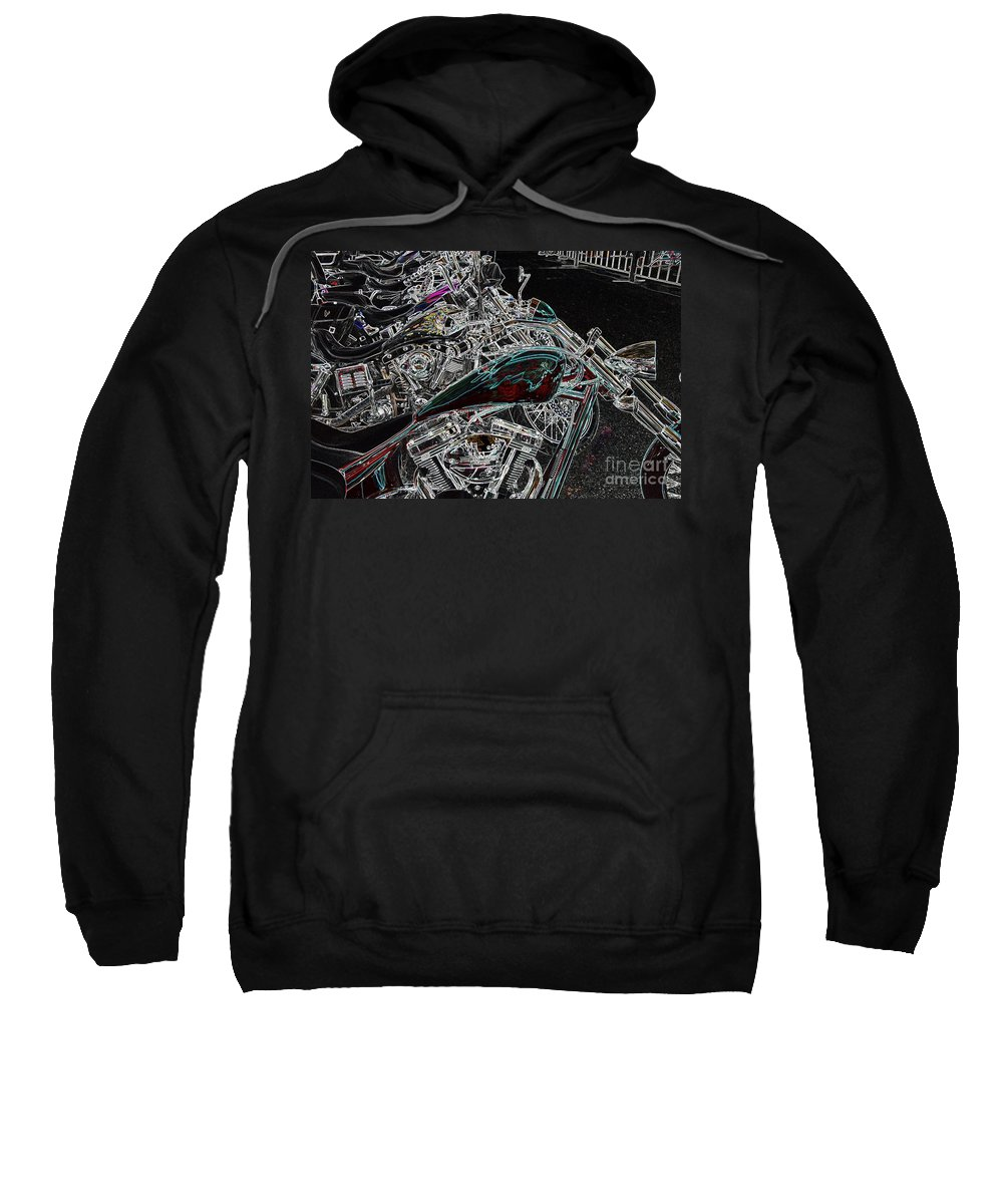 Harley Sweatshirt featuring the photograph Pop Lock And Chop by Anthony Wilkening