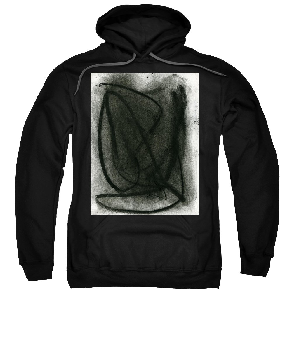 Random Thoughts Sweatshirt featuring the painting Random Thoughts by Taylor Webb