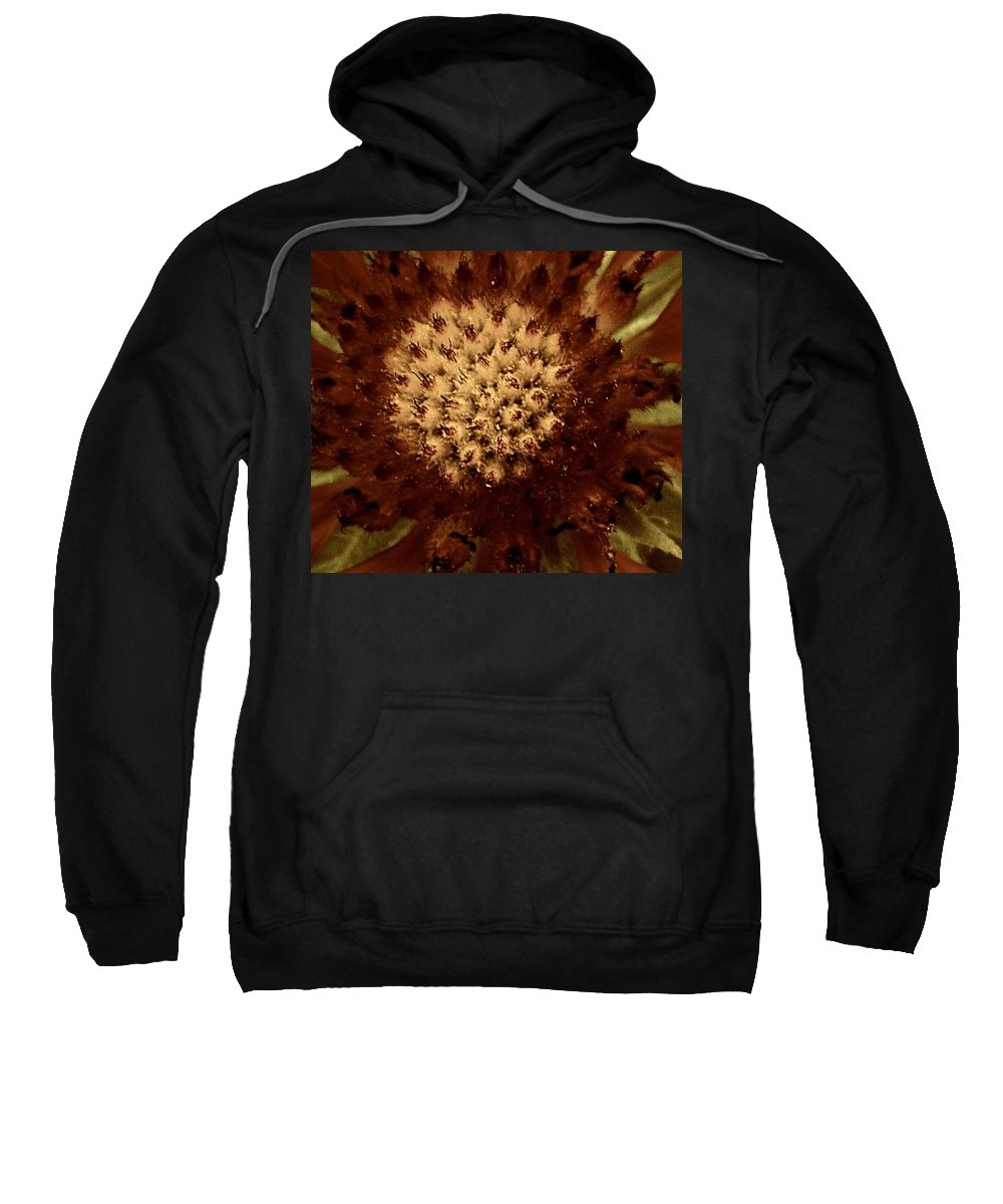 Earthy Sweatshirt featuring the photograph Red Tips by Chris Berry