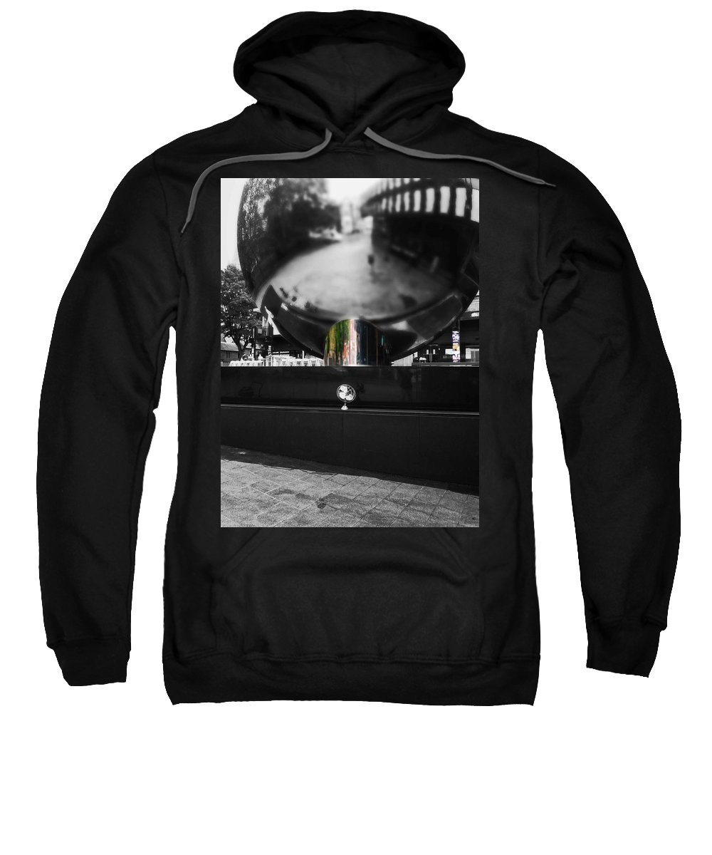 Fan Sweatshirt featuring the photograph Reflect by Charles Stuart