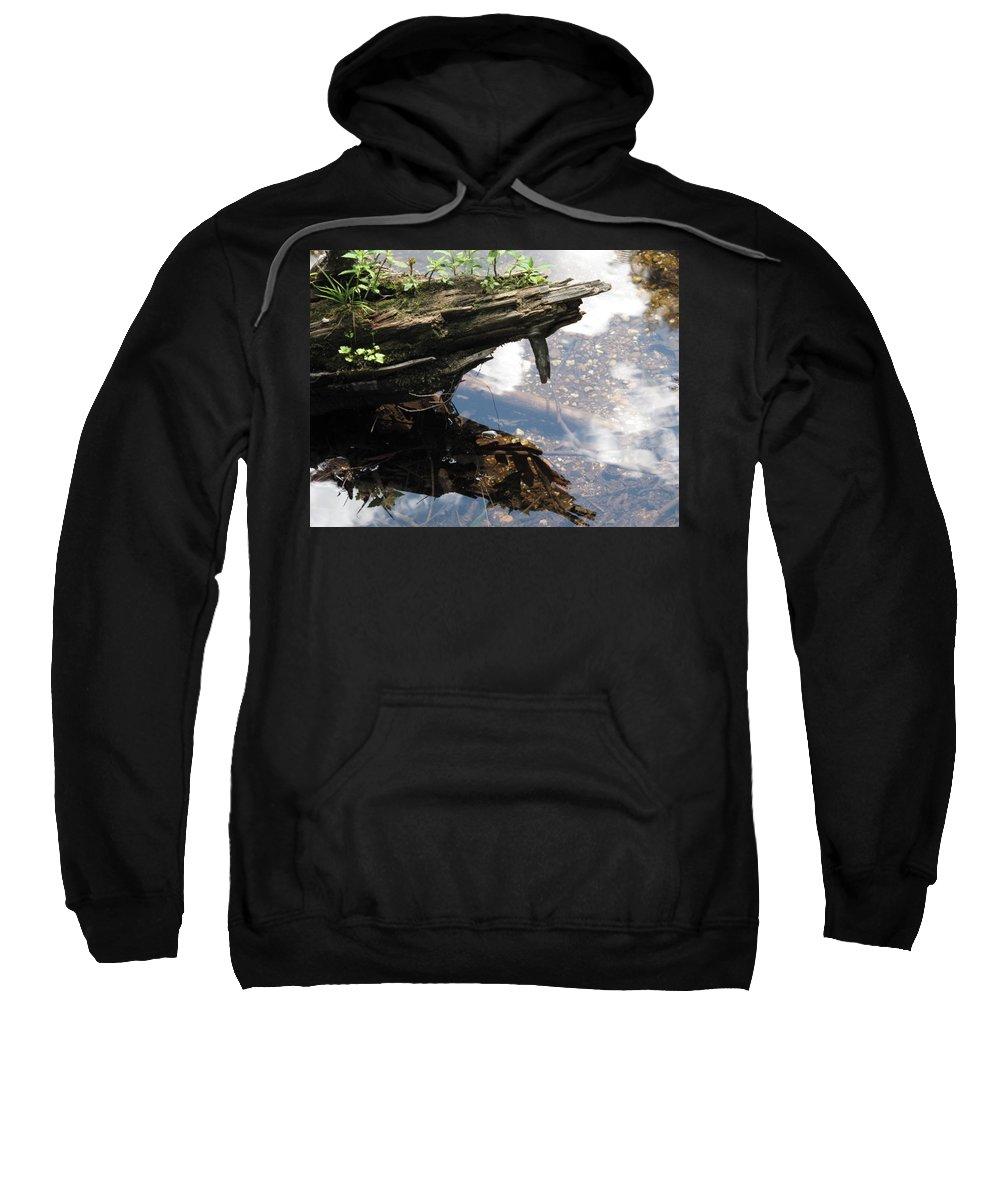Wood Sweatshirt featuring the photograph Reflection by Michele Nelson
