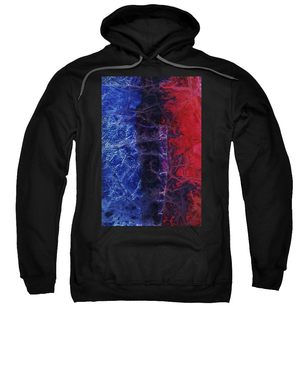 Abstract Sweatshirt featuring the mixed media Rhapsody Of Colors 54 by Elisabeth Witte