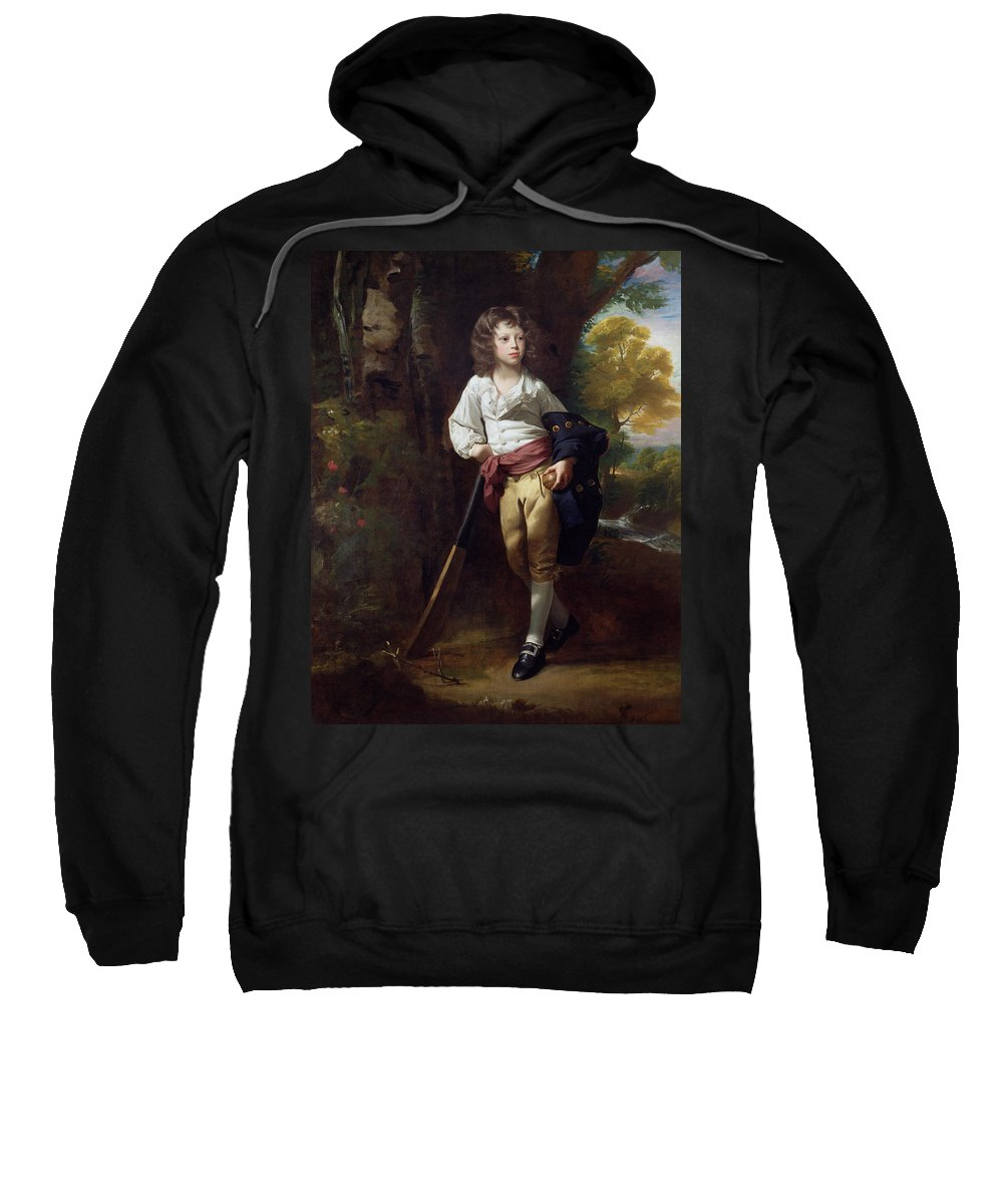 Richard Sweatshirt featuring the painting Richard Heber by John Singleton Copley