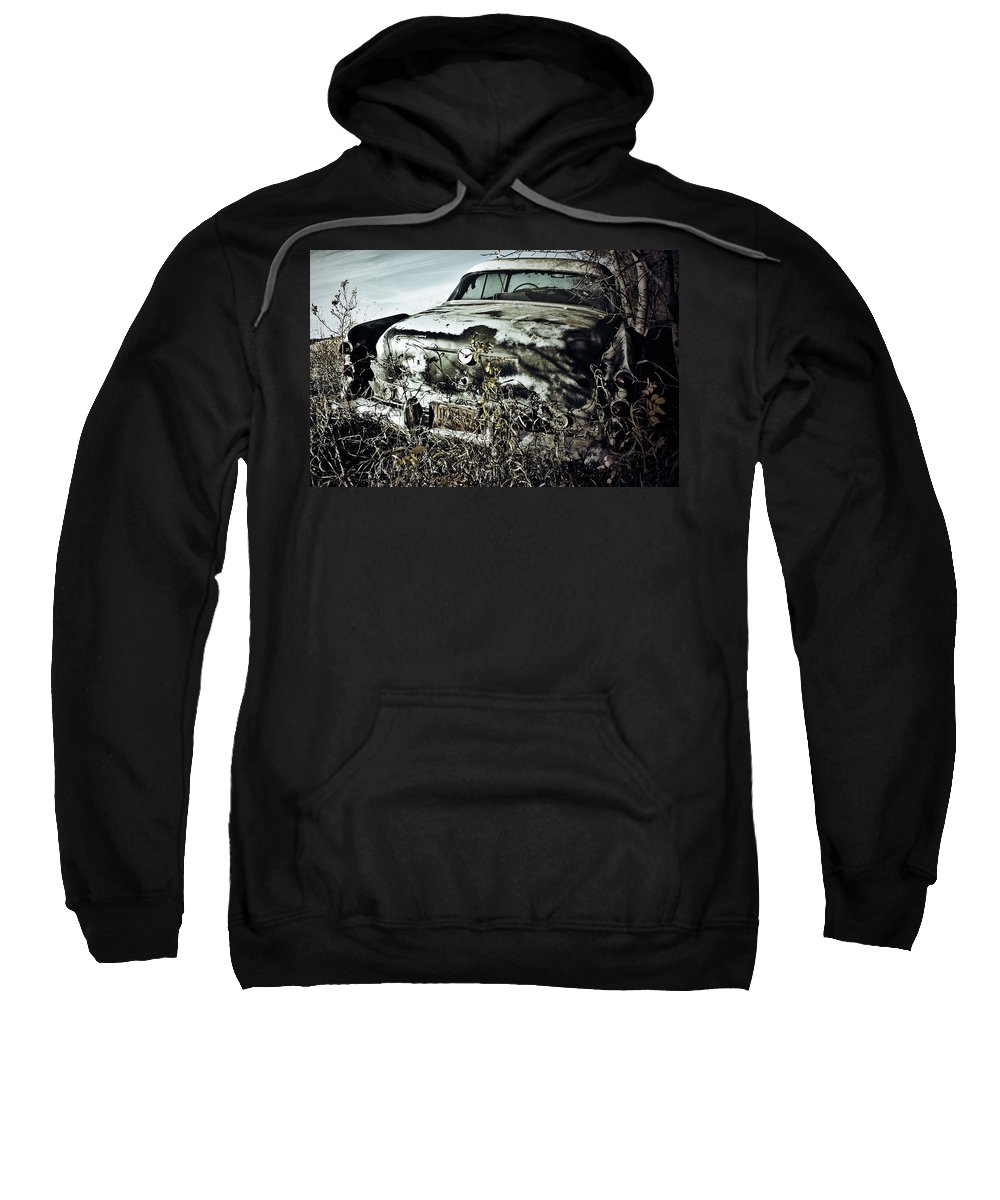 Street Photographer Framed Prints Sweatshirt featuring the photograph Ride Of Abandonment by The Artist Project