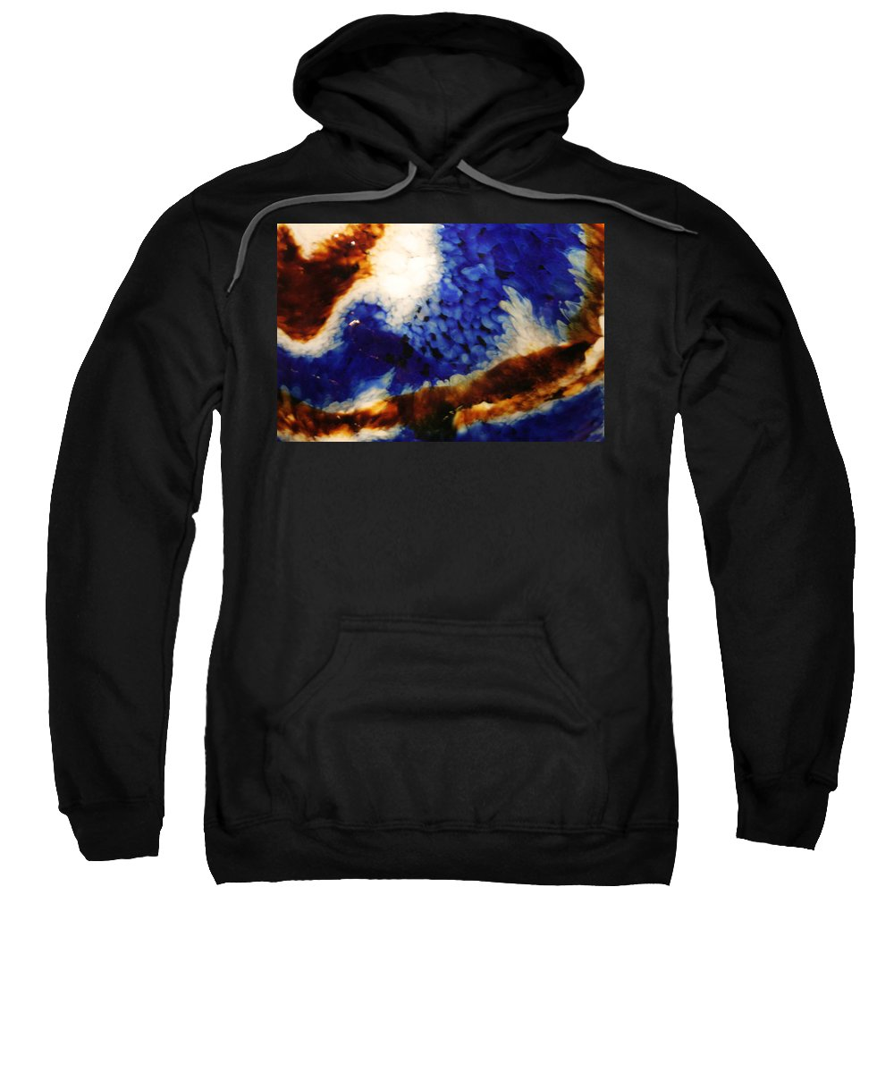 Brown Sweatshirt featuring the photograph Rootbeer Sky by Ric Bascobert