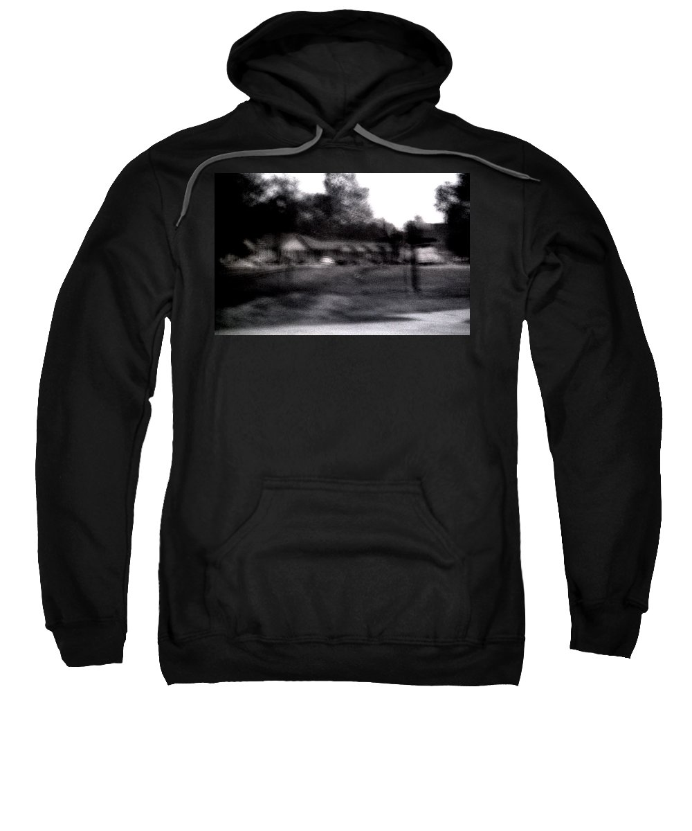 Louisiana Sweatshirt featuring the photograph Row Houses- Monroe Louisiana by Doug Duffey