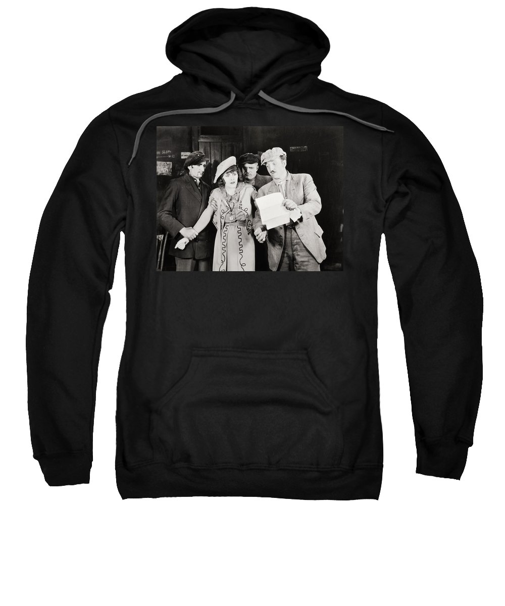 -groups & Mixed- Sweatshirt featuring the photograph Ruth Of The Rockies, 1920 by Granger