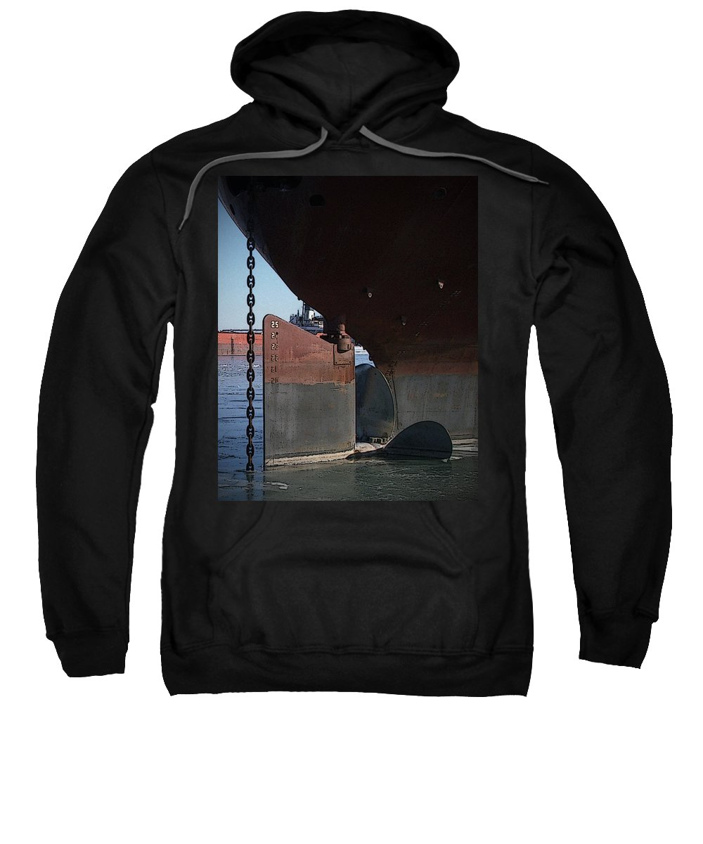 Prop Sweatshirt featuring the photograph Ryerson Prop by Tim Nyberg