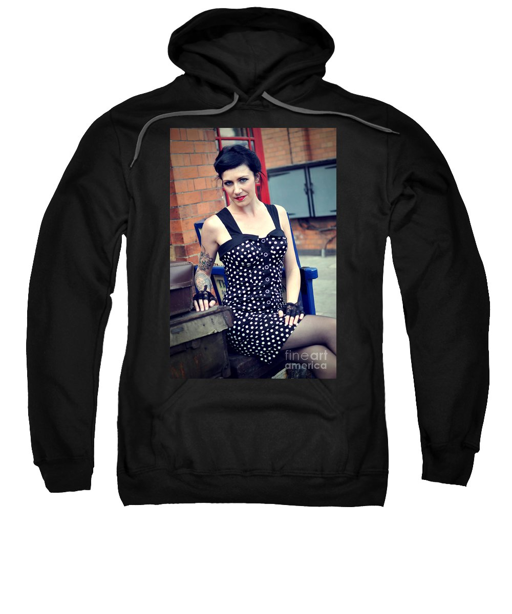 Yhun Suarez Sweatshirt featuring the photograph Sam1 by Yhun Suarez