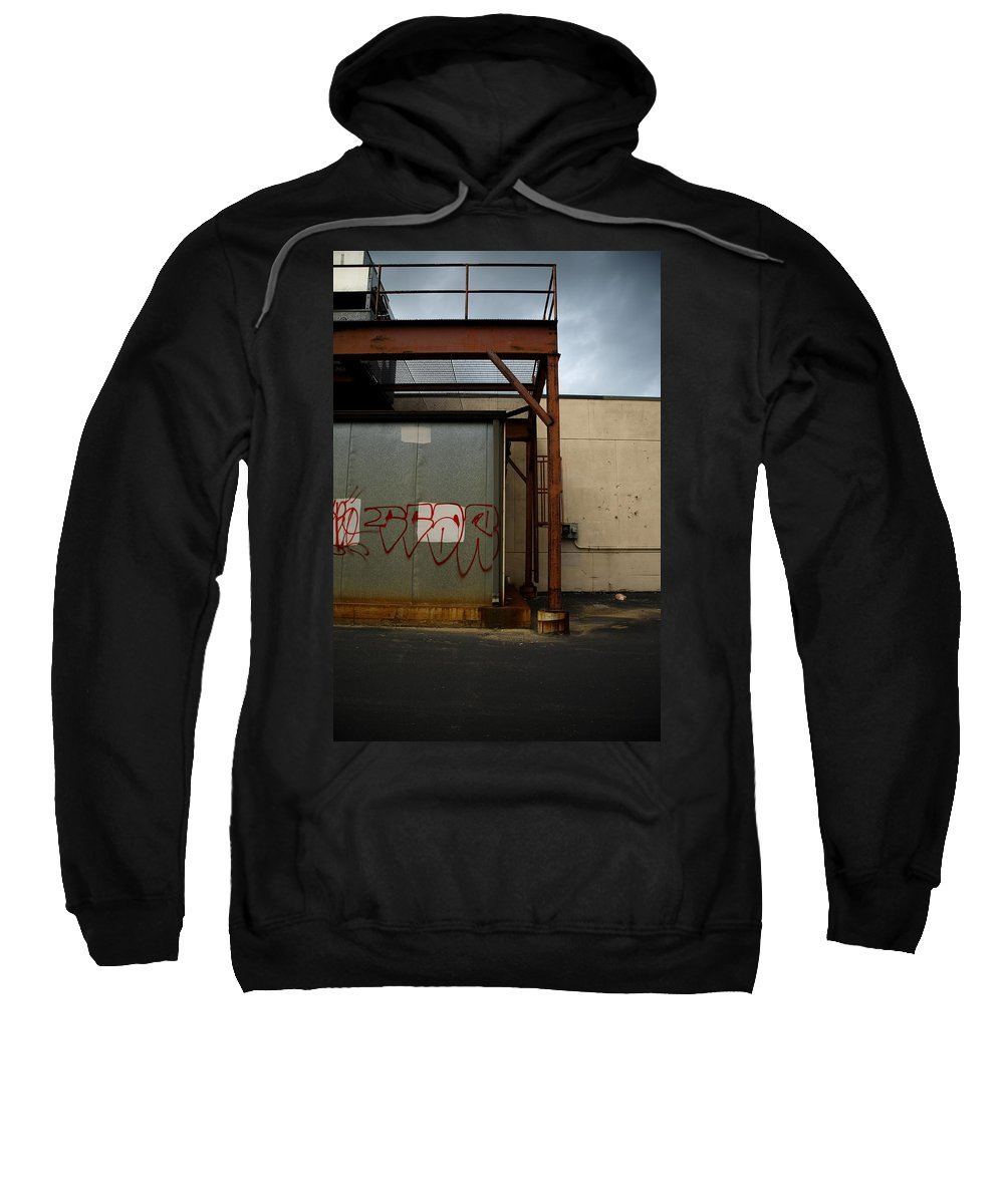 Graffiti Sweatshirt featuring the photograph Scar by Maglioli Studios