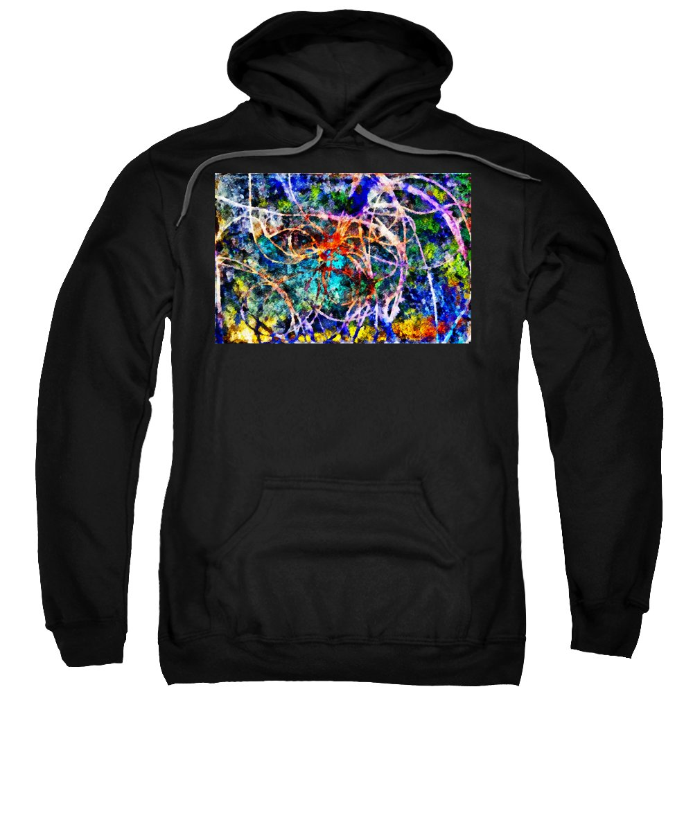 Serpentine Sweatshirt featuring the photograph Serpentine by Angelina Vick