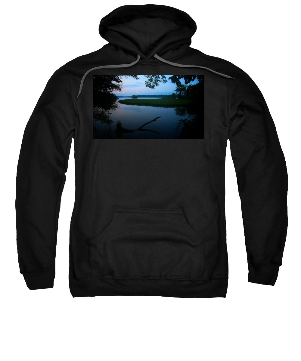 Nature Sweatshirt featuring the photograph Settling In by Phil Cappiali Jr
