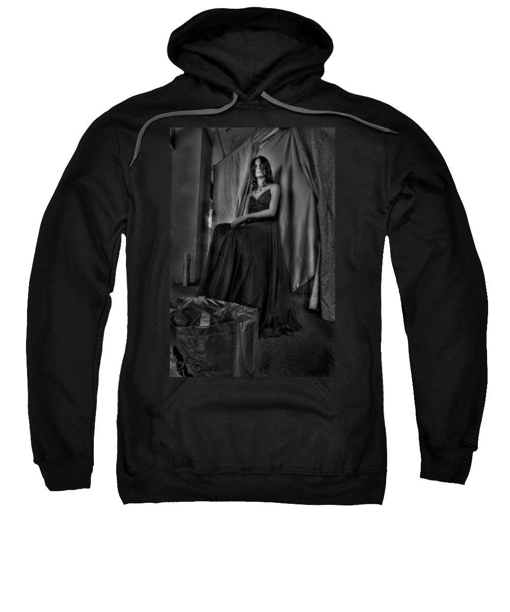 Acrylic Prints Sweatshirt featuring the photograph Shabby Genteel by John Herzog