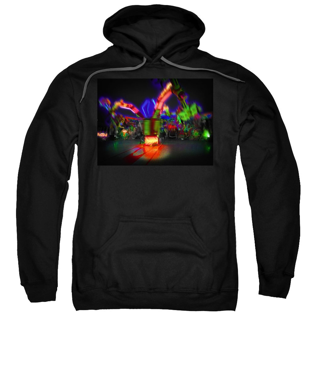 Shaker Sweatshirt featuring the digital art Shaker by Charles Stuart