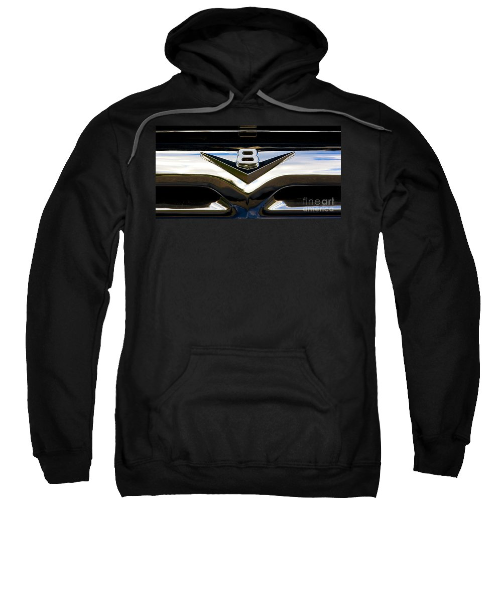 Grille Sweatshirt featuring the photograph Should Have Had A Vee Eight by Chris Dutton