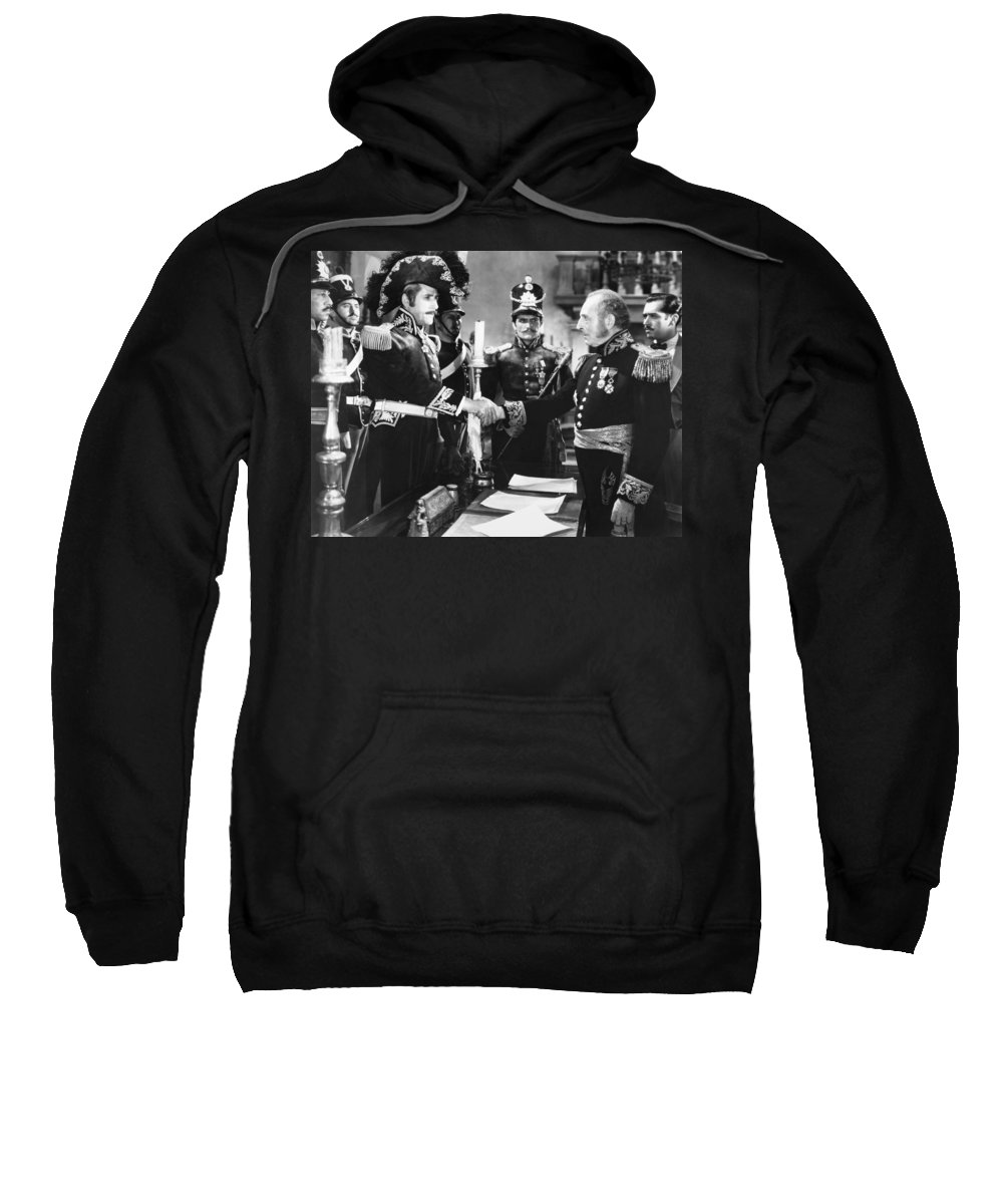 1920s Sweatshirt featuring the photograph Silent Still: Uniforms by Granger