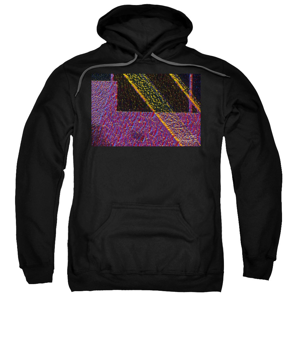 Cell Sweatshirt featuring the photograph Silicon Solar Cell by Michael Abbey and Photo Researchers
