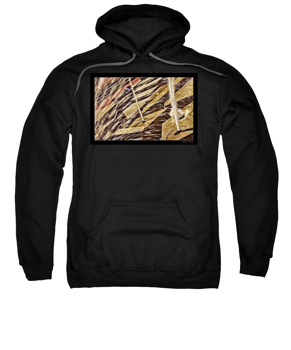 Water Fountain Sweatshirt featuring the photograph Sleep At Water Fountain by Blake Richards