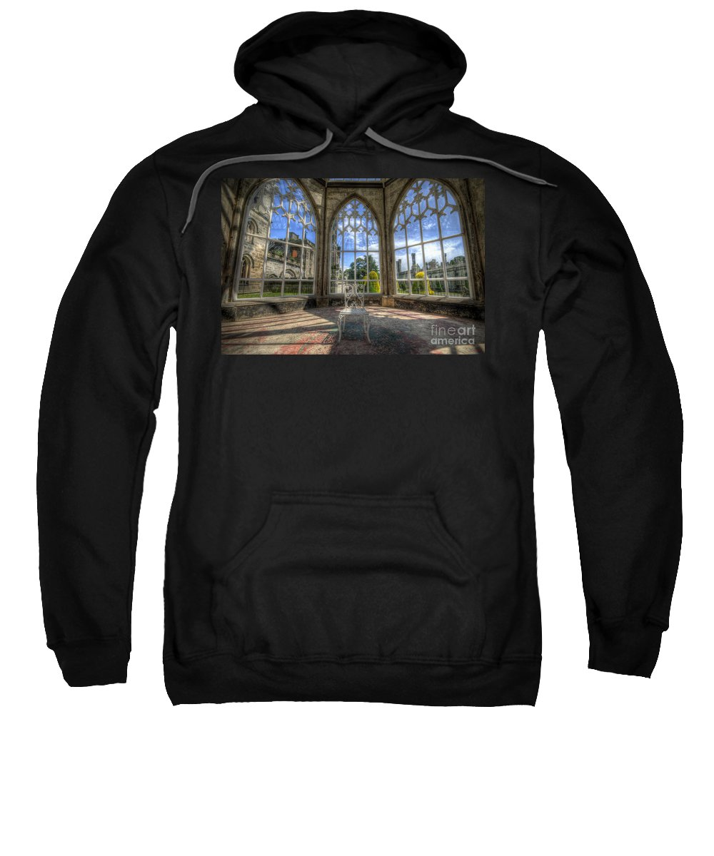 Art Sweatshirt featuring the photograph Solitary Conservatory by Yhun Suarez