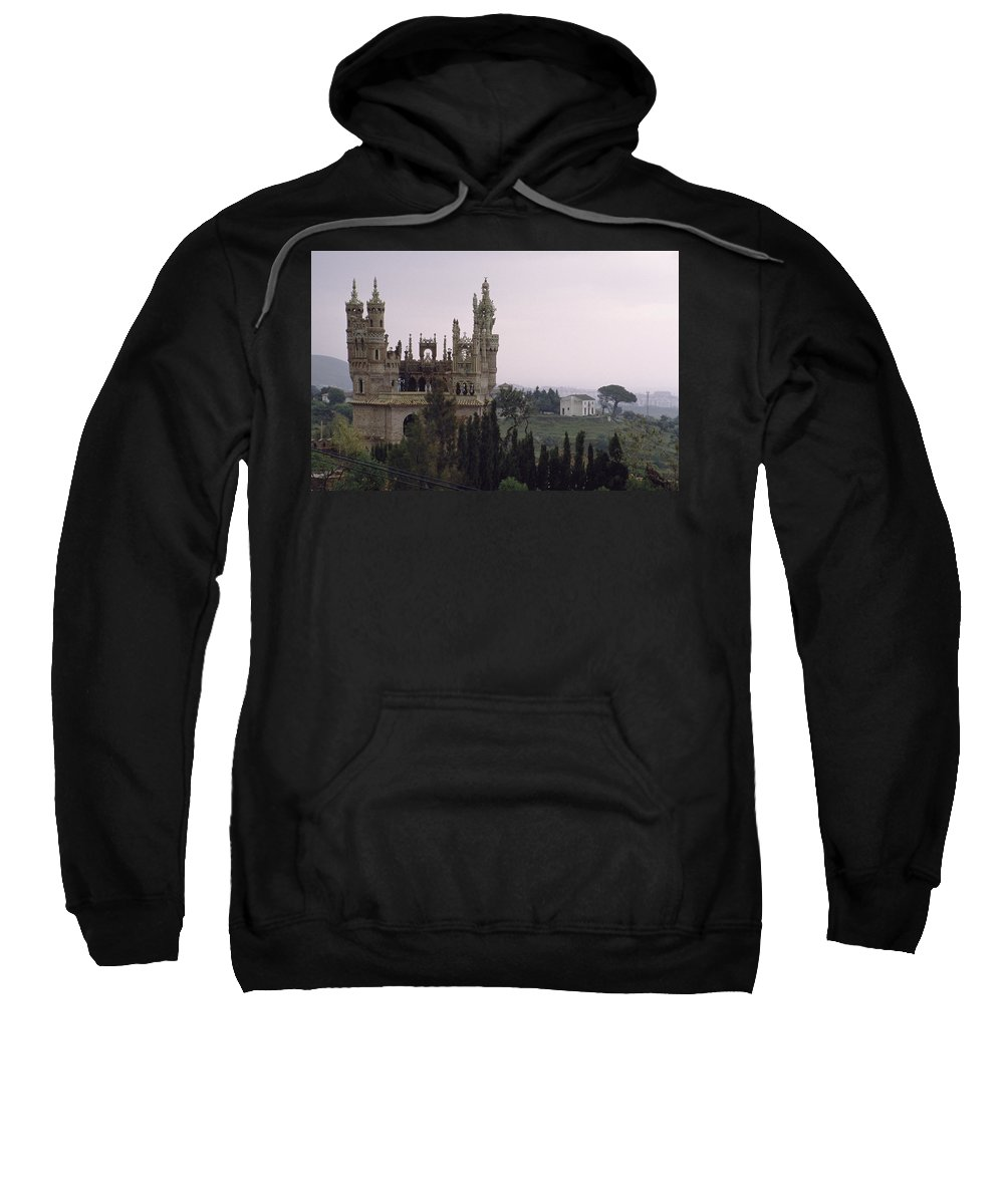 Castle Sweatshirt featuring the photograph Spanish Castle by Shaun Higson