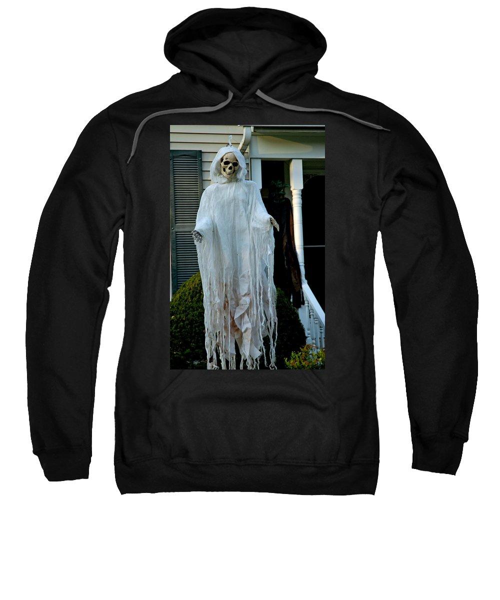 Usa Sweatshirt featuring the photograph Spooky Flight by LeeAnn McLaneGoetz McLaneGoetzStudioLLCcom