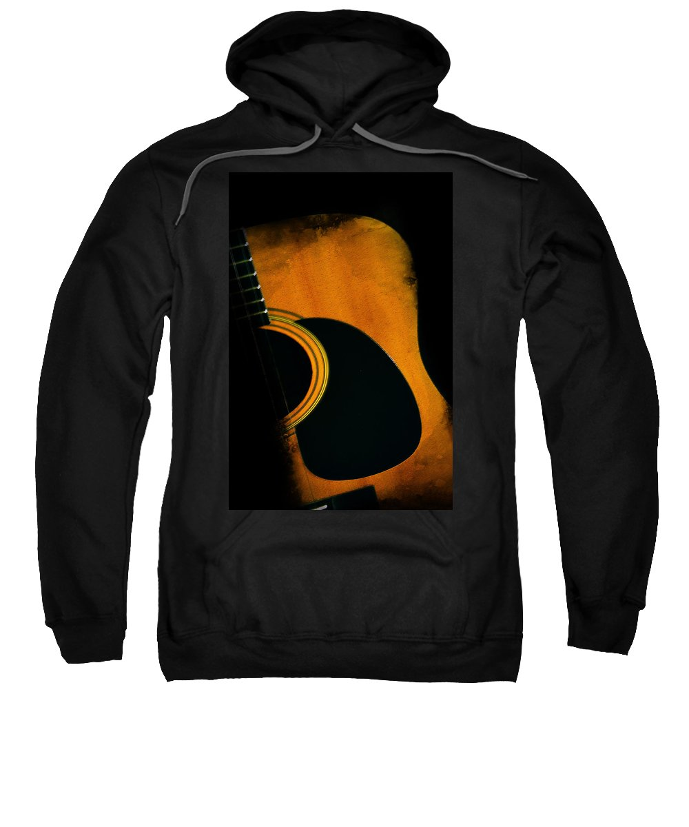 Standing In The Shadows Sweatshirt featuring the photograph Standing In The Shadows by Bill Cannon