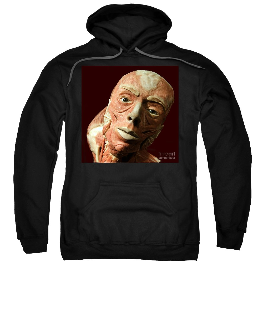 Stare Sweatshirt featuring the photograph Staring Trance by Darleen Stry