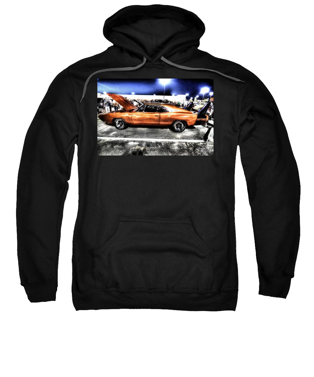 Dodge Sweatshirt featuring the photograph Stealing The Show by David Morefield