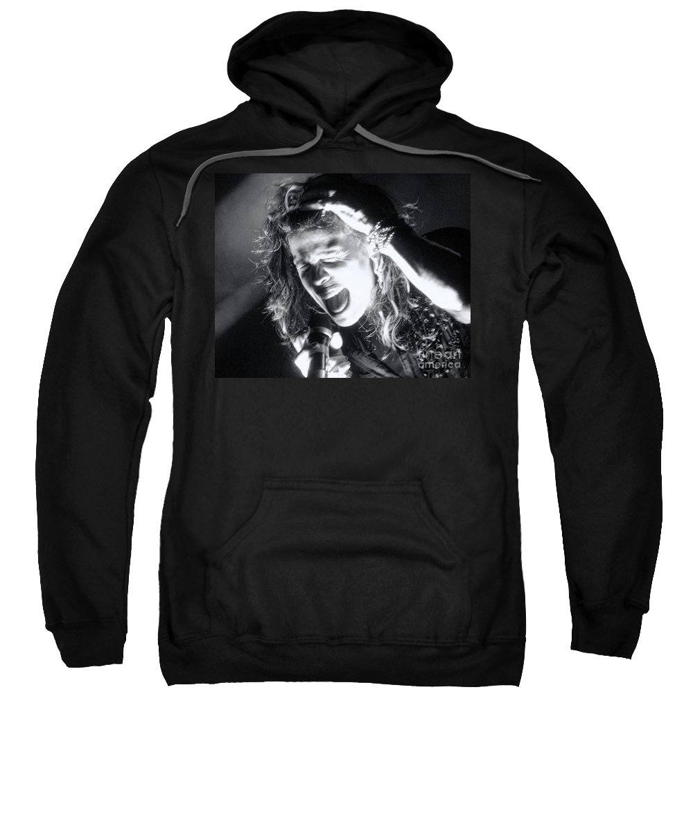 Steven Tyler Sweatshirt featuring the photograph Steven by Traci Cottingham