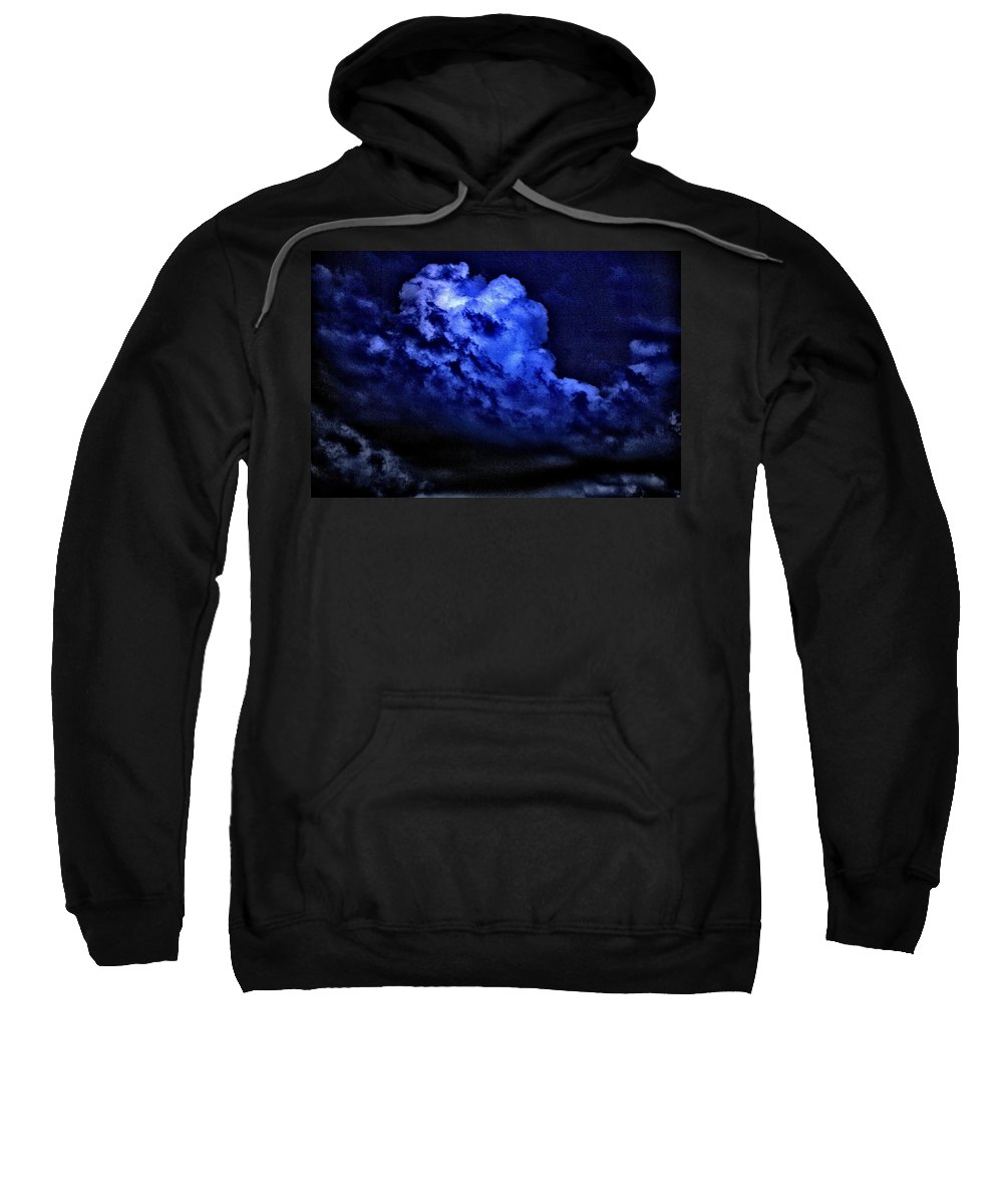 Cumulonimbus Sweatshirt featuring the photograph Storm's Coming by One Rude Dawg Orcutt