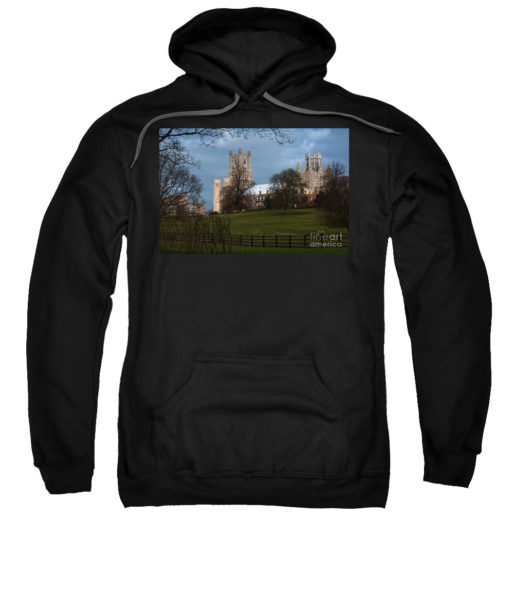 Anglia Sweatshirt featuring the photograph Stormy Sky by Andrew Michael