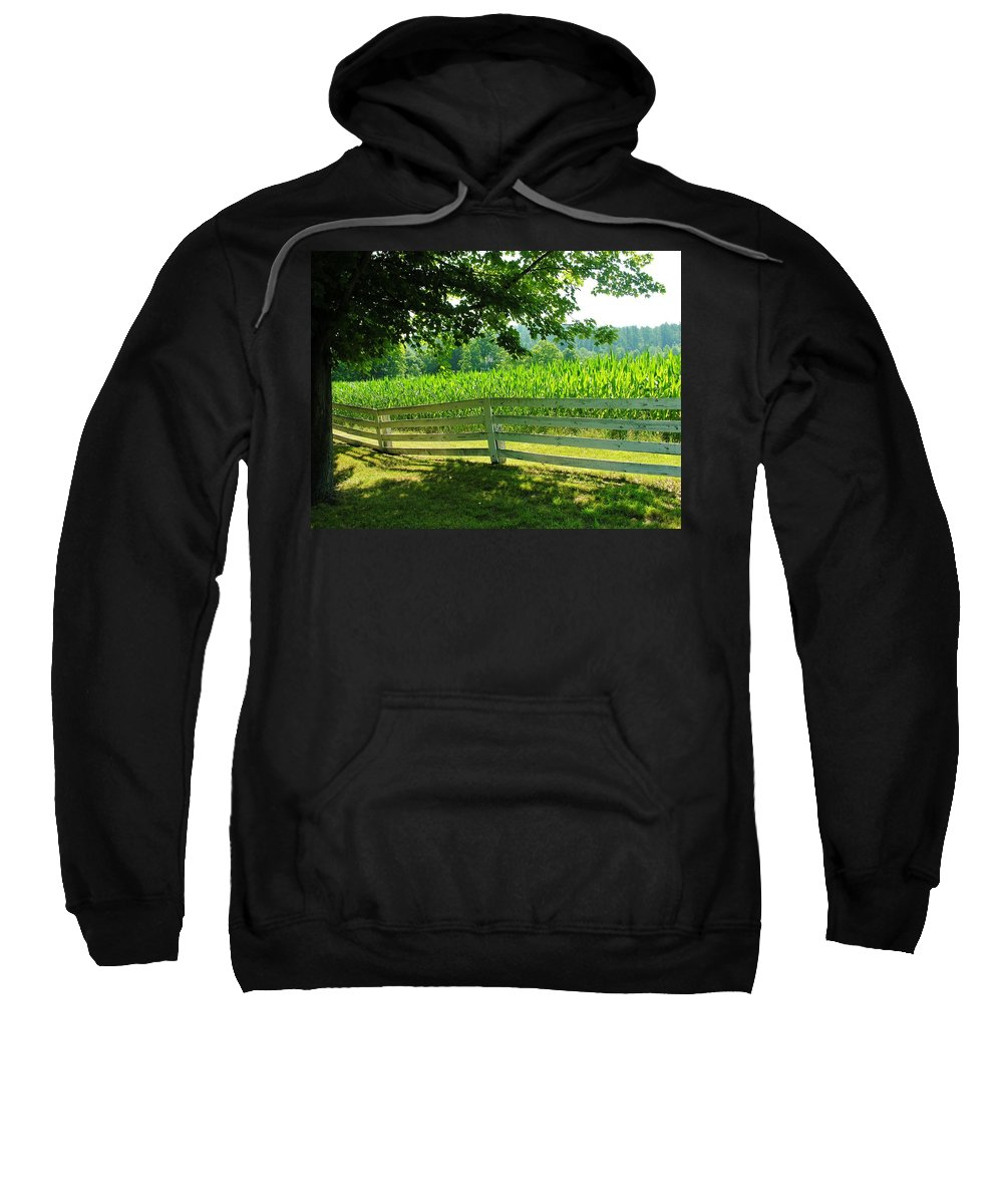 Corn Sweatshirt featuring the photograph Summer Corn by Sherman Perry