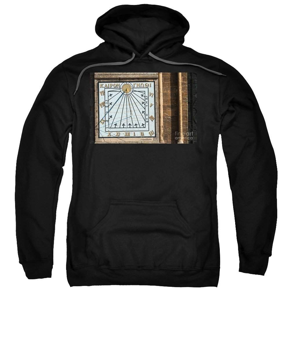 Ancient Sweatshirt featuring the photograph Sundial by Andrew Michael