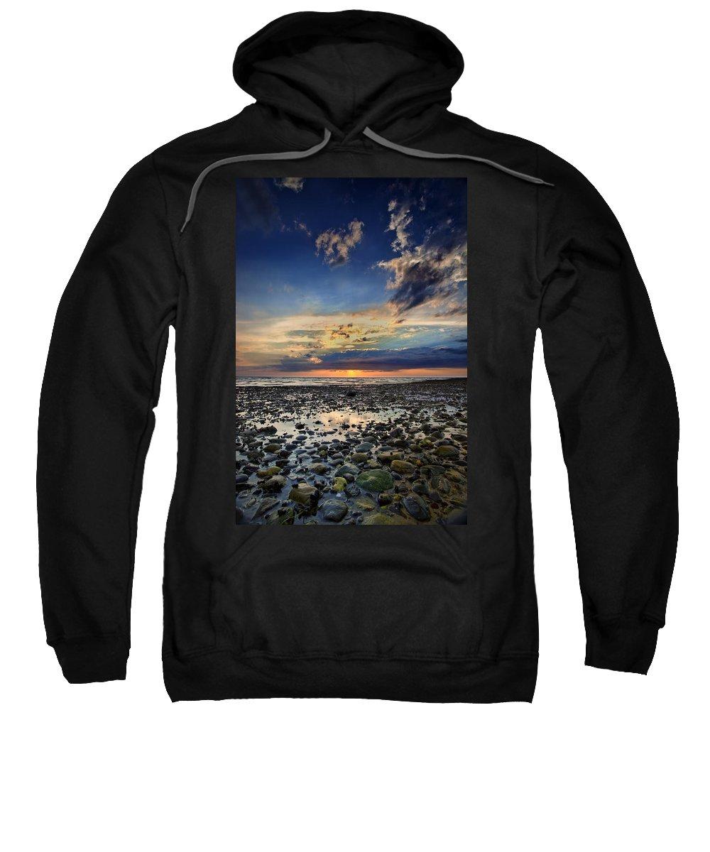 Bound Brook Island Sweatshirt featuring the photograph Sunset Over Bound Brook Island by Rick Berk