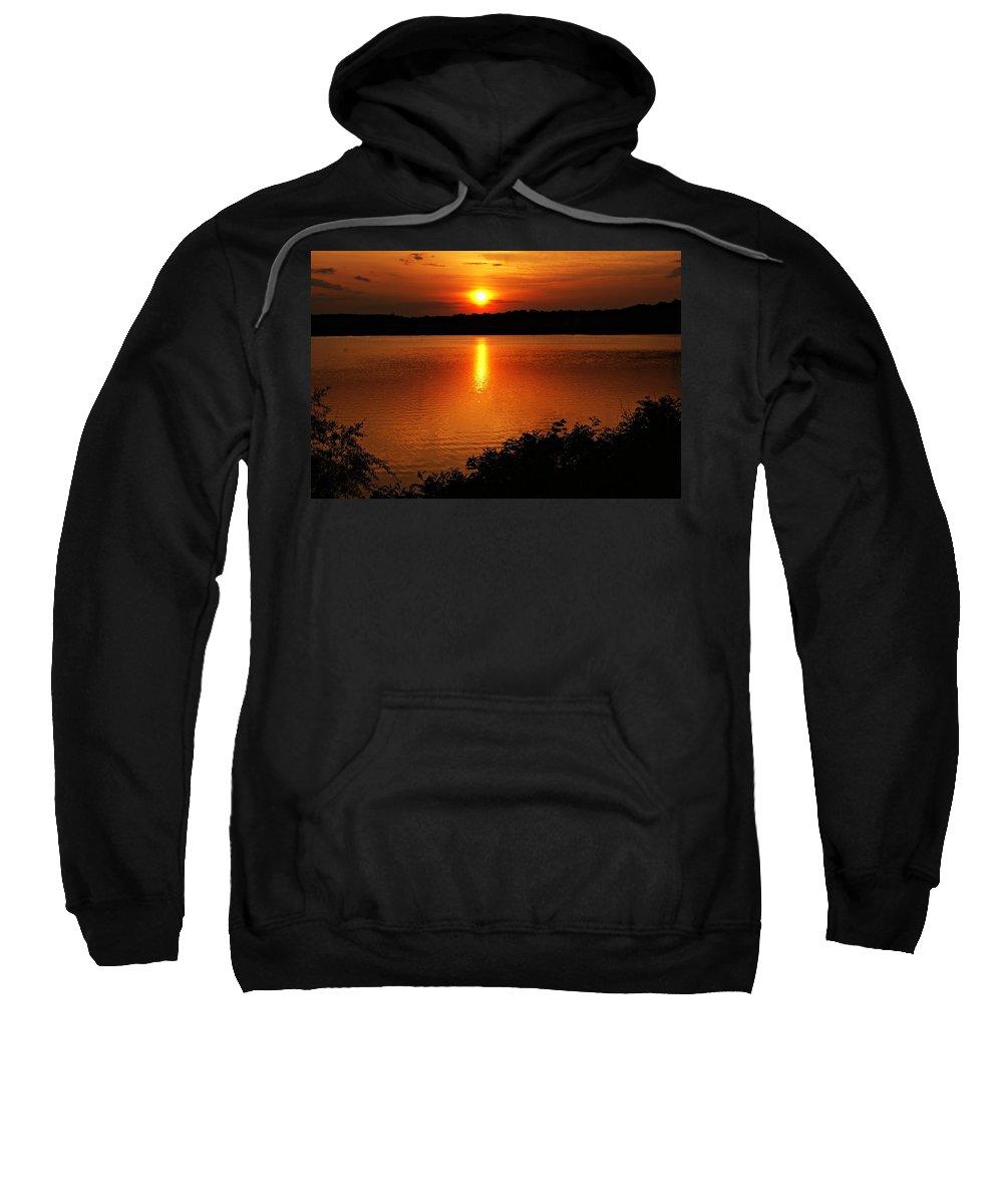 Sunrise Sweatshirt featuring the photograph Sunset Xvi by Joe Faherty