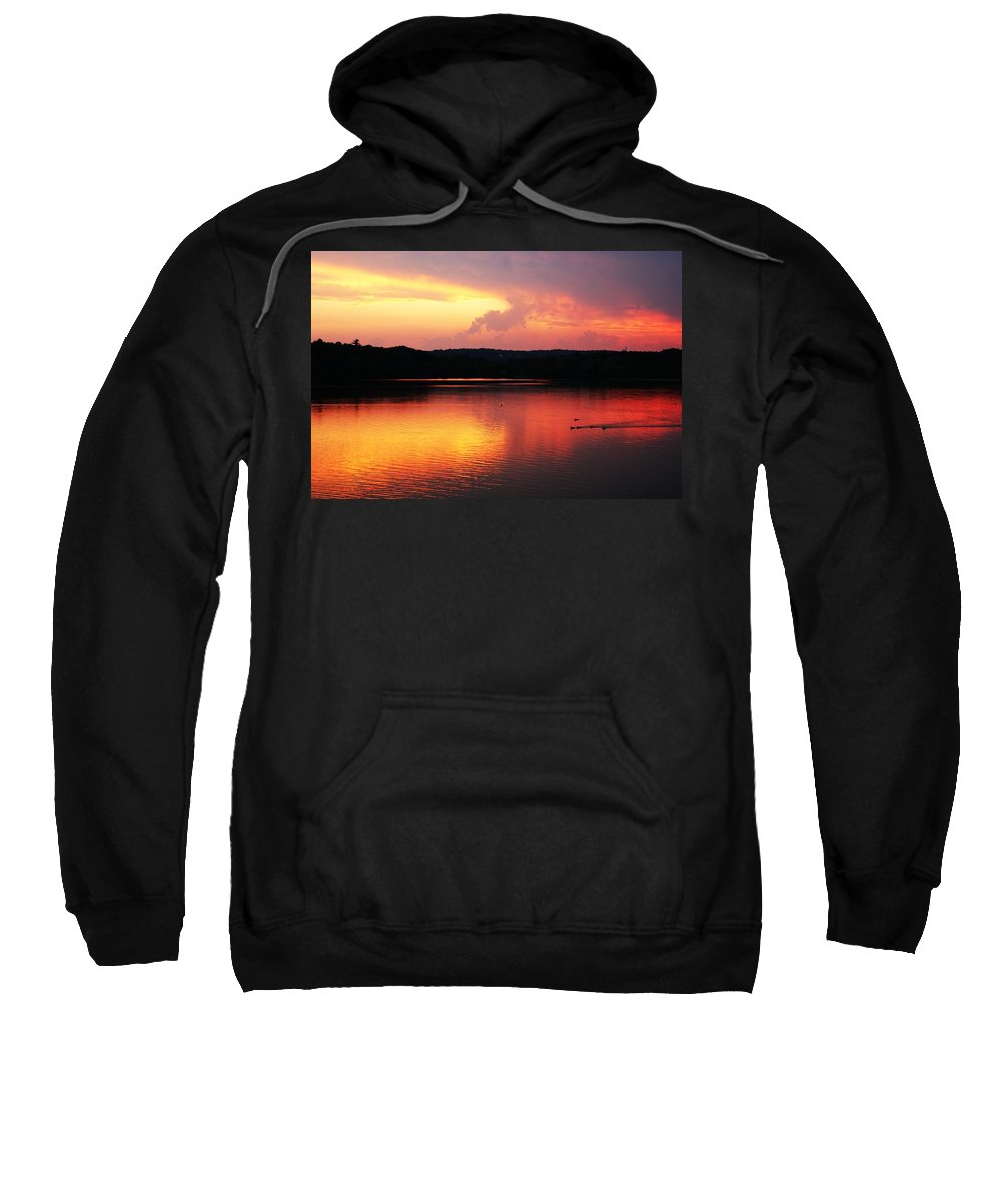 Sunrise Sweatshirt featuring the photograph Sunset Xxix by Joe Faherty