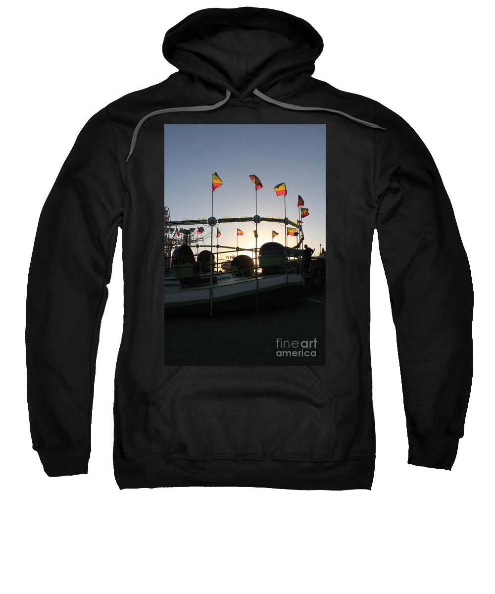 Carnival Sweatshirt featuring the photograph Tea Cups At Sunset by Alycia Christine