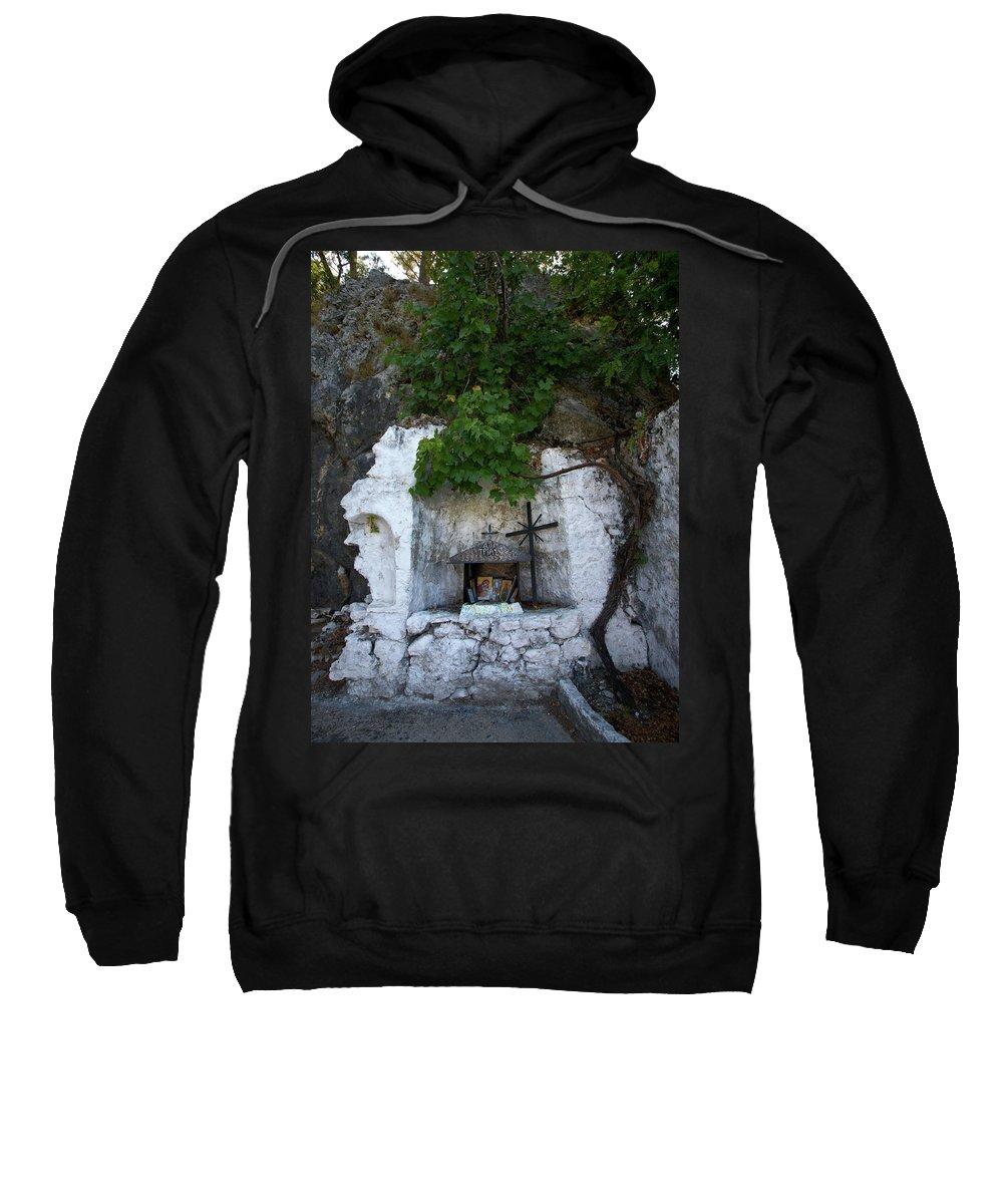 Jouko Lehto Sweatshirt featuring the photograph The Altar 2 by Jouko Lehto