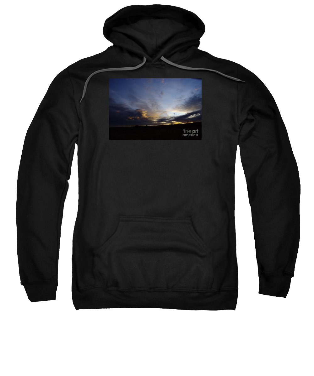 Autumn Sweatshirt featuring the photograph The Autumn Sky by Jeff Swan