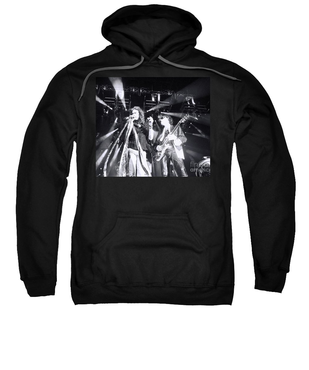 Steven Tyler Sweatshirt featuring the photograph The Boyz by Traci Cottingham