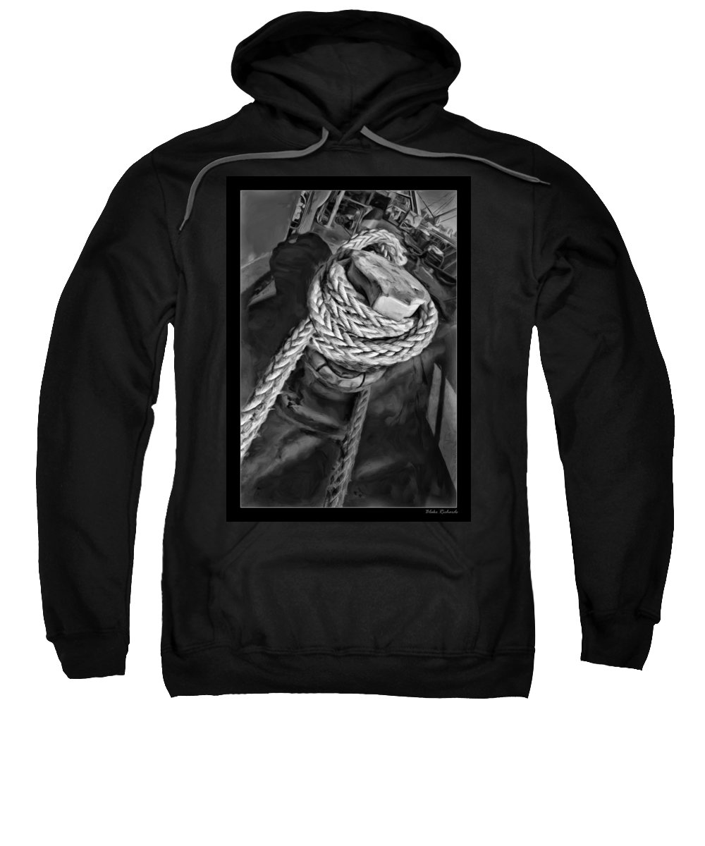 Ship Sweatshirt featuring the photograph The Captain Knot by Blake Richards