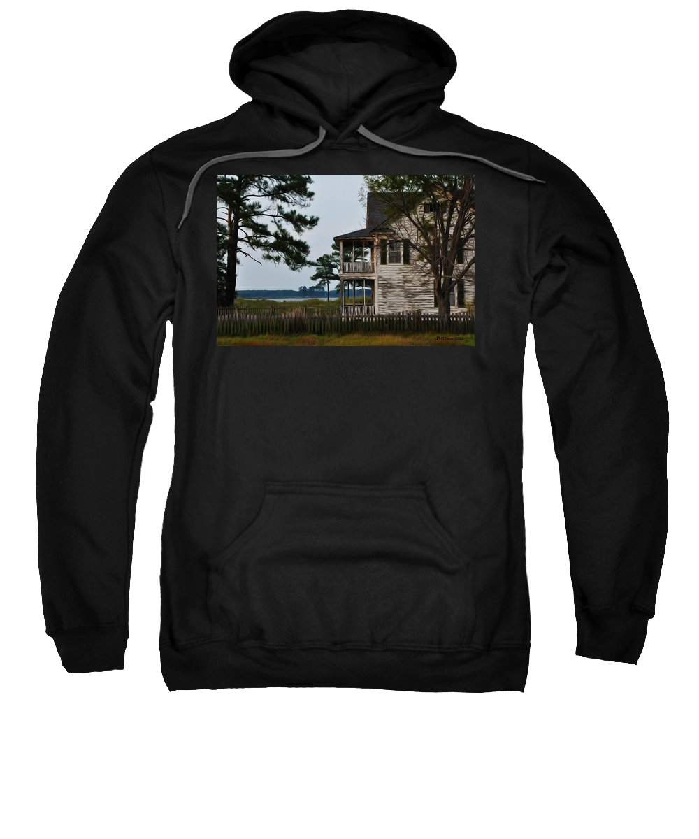 The Fishermans House Sweatshirt featuring the photograph The Fishermans House by Bill Cannon