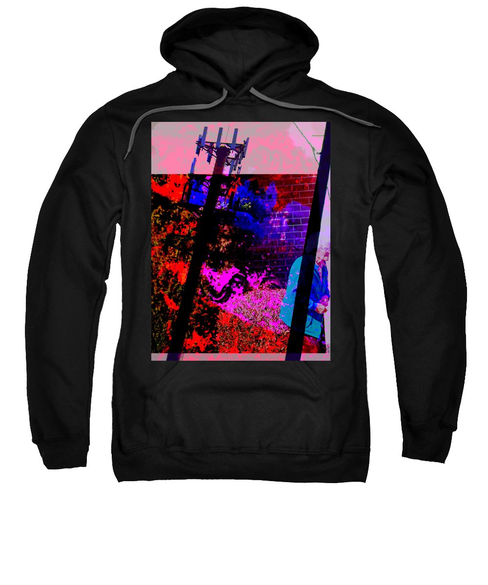 Abstract Sweatshirt featuring the photograph The Future Of Nuclear Energy by Lenore Senior