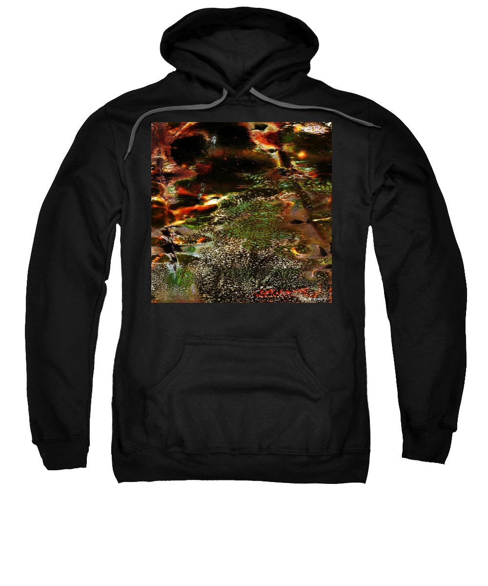 Andy Warhol Sweatshirt featuring the photograph The Long Path Home by Doug Duffey