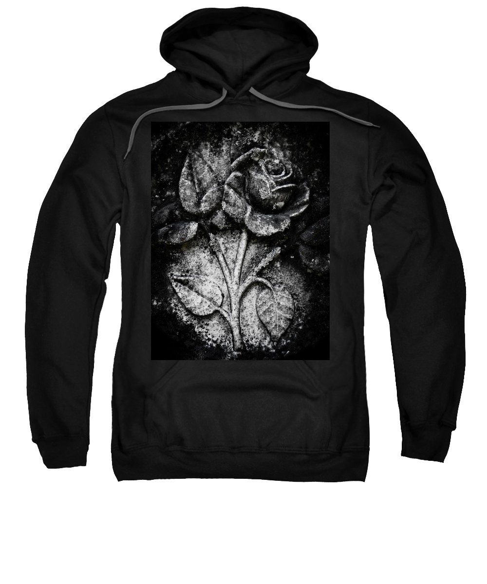 Rose Sweatshirt featuring the photograph The Rose by Jessica Brawley