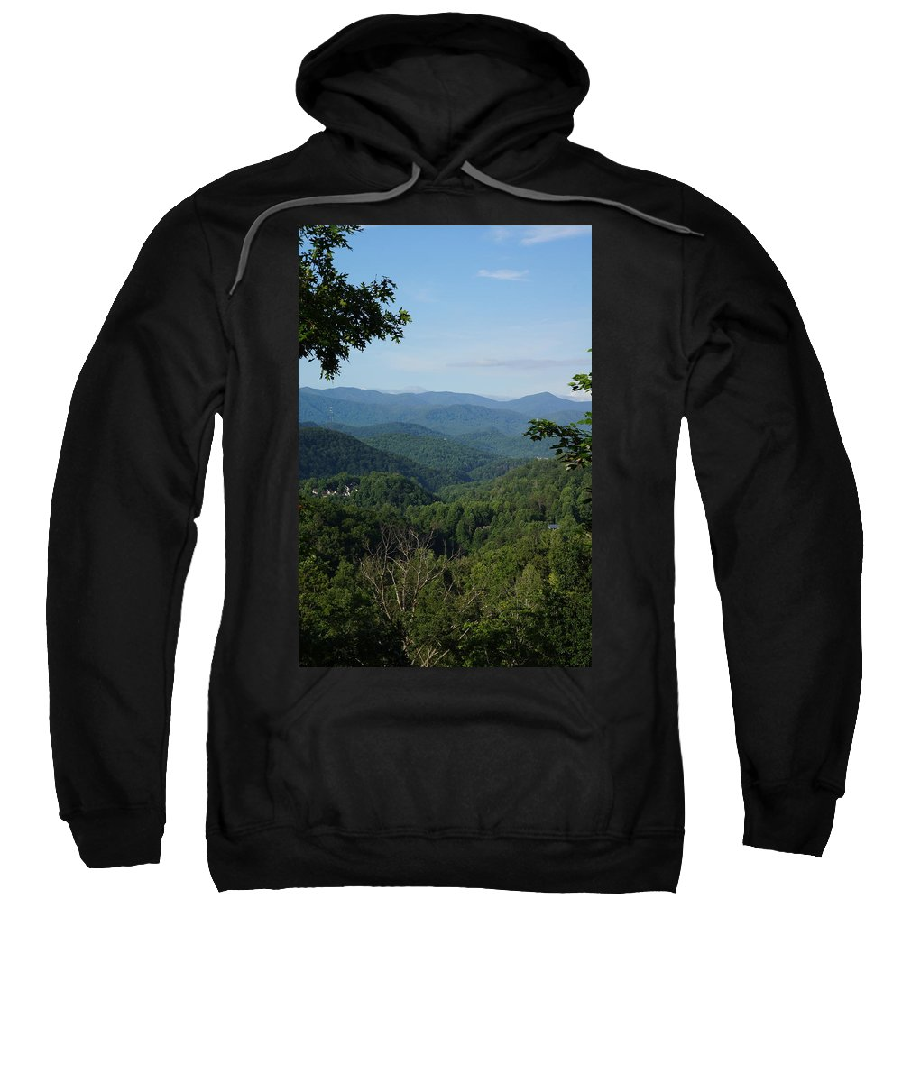 Mountain Sweatshirt featuring the photograph The Smoky Mountains by Megan Cohen